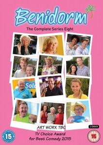 Benidorm season 8 dvd cover