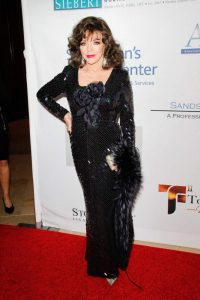 Joan Collins at the Talk of the Town Gala 2016 held at the Beverly Hilton Hotel in Beverly Hills, CA, November 19, 2016. Photo by Joseph Martinez / PictureLux